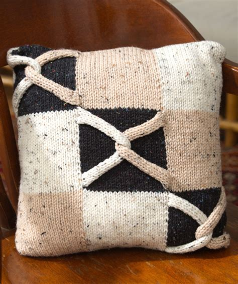 Pillow Pattern by Knitted Pillow Patterns A Knitting
