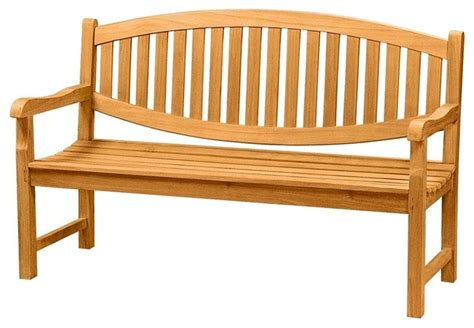 unfinished outdoor bench anderson teak kingston 3 seater bench unfinished
