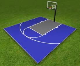 diy sport court