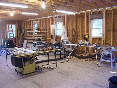 the woodworkers garage photo garage 050 the new woodworking shop on the 2nd