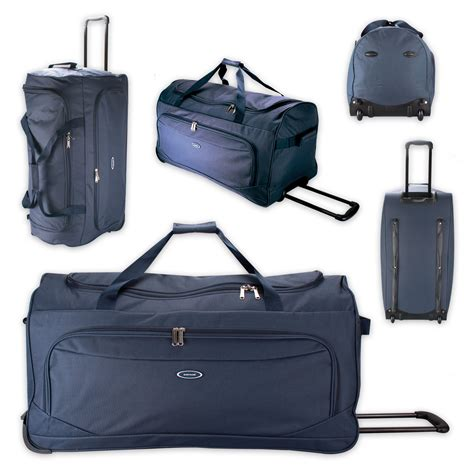 Premium Trolley Bag Num Noms Only trolley travel bag koffer wheeled bags blue ebay