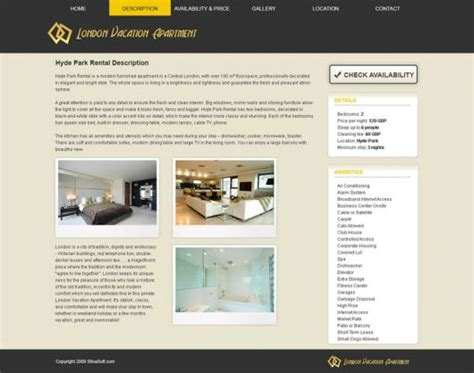 Vacation Rental Website Template 8 Free Psd Templates Phpjabbers Best Vacation Rental Website Templates