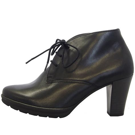 high heel ankle boots uk gabor boots aude high heel ankle boot in black