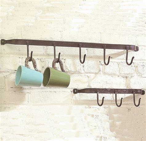 iron wall coat rack