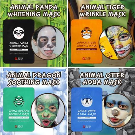 Snp Animal Mask Panda Mask Others animal mask pack sheet from erd global co ltd