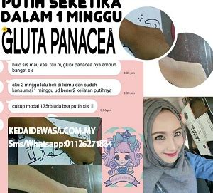 Gluta Panacea gluta panacea malaysia gluta panacea review gluta
