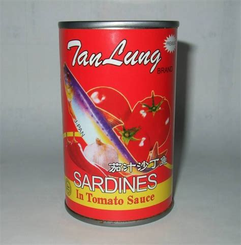 Shelf Of Tomato Sauce by Canned Sardine Fish In Products China Canned Sardine