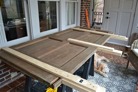Building A Headboard From An Door by How To Build A Daybed From Doors