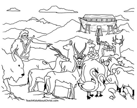 printable coloring pages noah s ark noah and the ark coloring pages az coloring pages