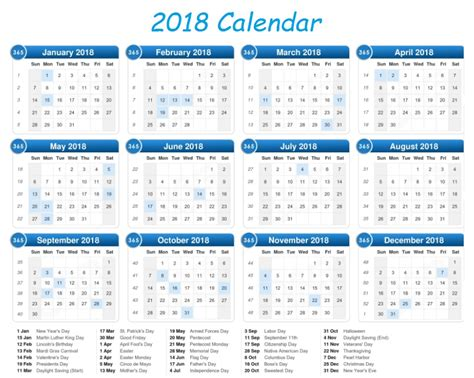 Calendar 2018 Uk School Holidays 2018 Printable Calendar With Us Uk Holidays Free