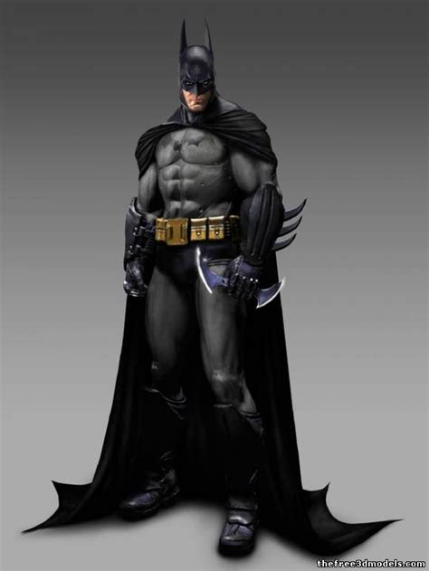 3d L Model Free batman 3d models free 3d batman
