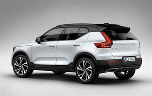 Volvo Compact Suv Volvo Joins The Luxury Compact Suv Niche With The New Xc40