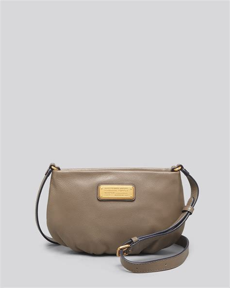 Marc By Marc Marc By Marc Miss Marc Canvas Zip Pouch by Marc By Marc Crossbody New Q Percy In Brown