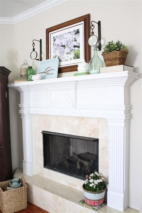 Adore Home Decor gorgeous spring mantels decorate mantel home stories a