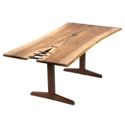 spectacular trestle dining table by george nakashima at 1stdibs