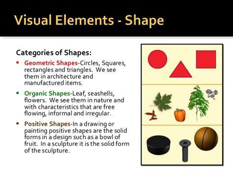 design definition of shape elements principles of design
