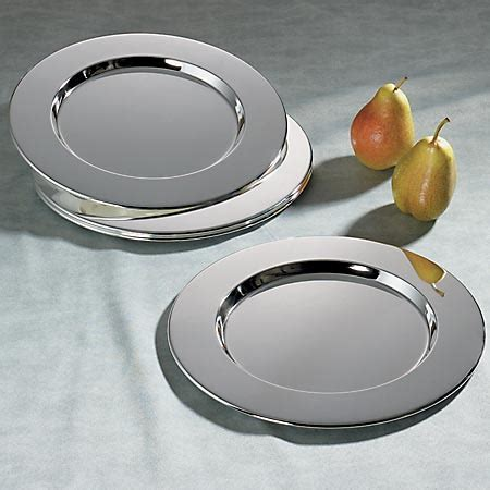 silver plate chargers bulk wholesale charger plates