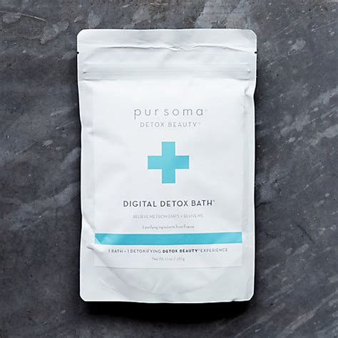 Digital Detox Salts From Pursoma by Pursoma Digital Detox Bath Terrain