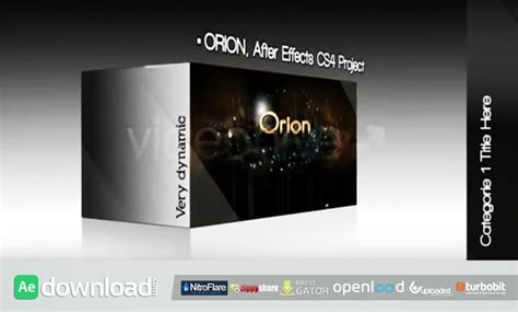 after effects 3d templates europa 3d box after effects project videohive free
