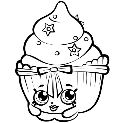 Shopkins Coloring Pages Best Coloring Pages For Kids Coloring Page For