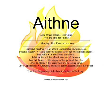 name a aithne name means nydob