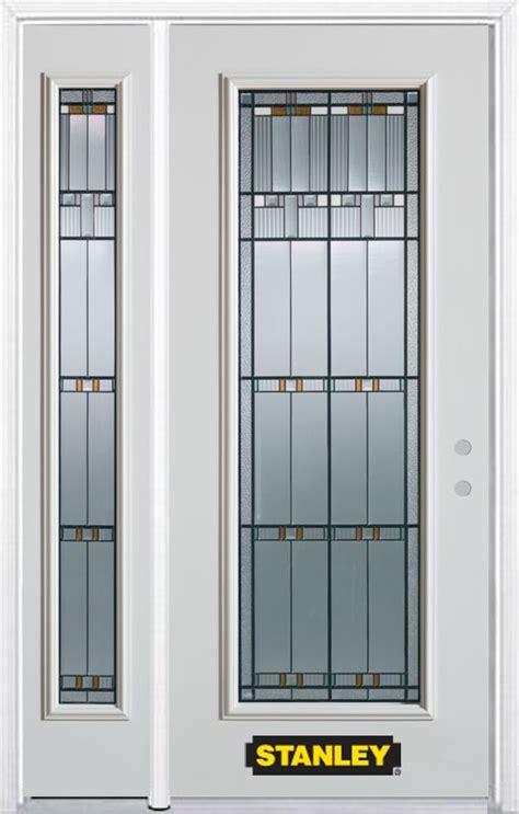 48 Inch Exterior Door Stanley Doors 48 Inch X 82 Inch Chicago Lite White Steel Entry Door With Sidelite And