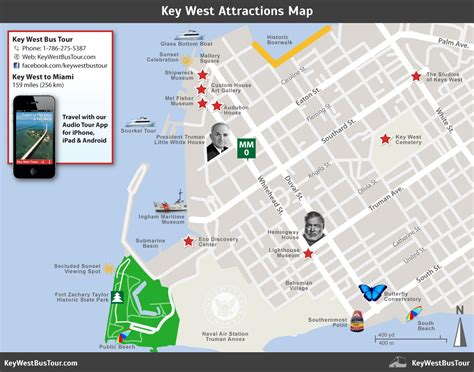 275 Square Feet by Southernmost Point Landmark Key West Bus Tour