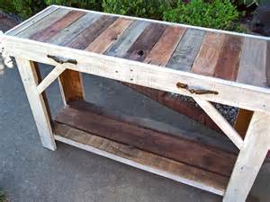Buy A Handmade Rustic Reclaimed Pallet Entry Table Made