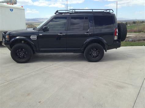 lr4 land rover black black lr4 build 18 quot compomotive wheels kaymar rear bumper