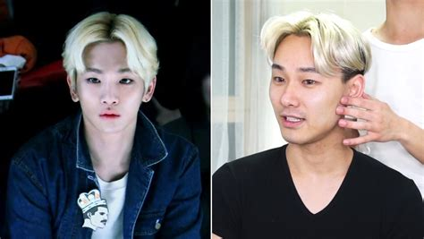 haircut for hair split middle men the middle part kpop korean hair and style