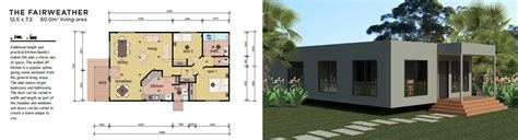 2 Bedroom 1 Bath Mobile Home Floor Plans by The Fairweather 2 Bedroom Modular Home Parkwood Homes