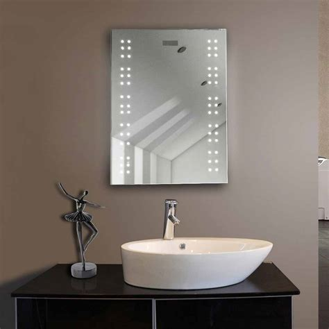 Led Backlit Bathroom Mirror Led Vanity Bathroom Mirrors Bathroom Vanity Cabinets Illuminated Backlit Rectangle Frameless