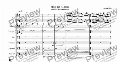 themes in frankenstein pdf frankenstein main title theme download sheet music pdf