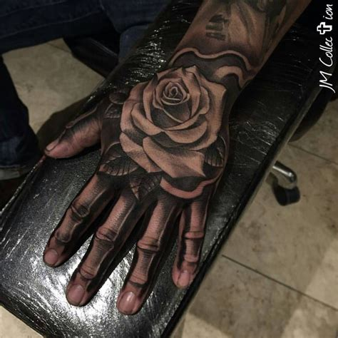 bone tattoo on finger ink sav on instagram hand fingers done by artist