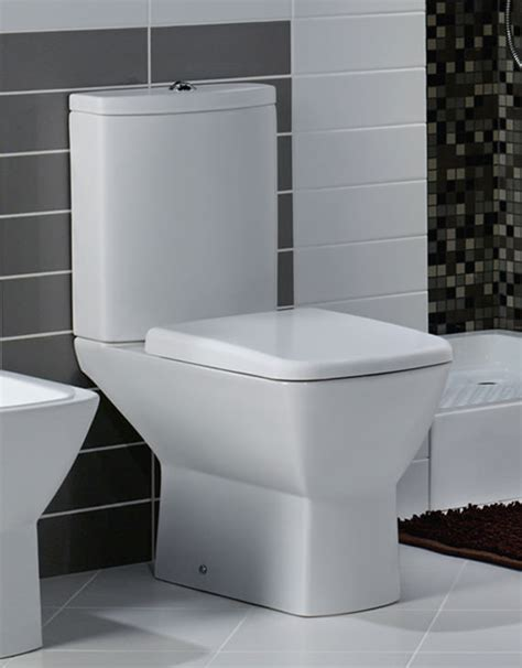 rak bathroom rak summit close coupled wc with soft close toilet seat 650mm