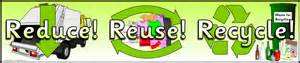 reduce reuse recycle display banner sb7513 sparklebox
