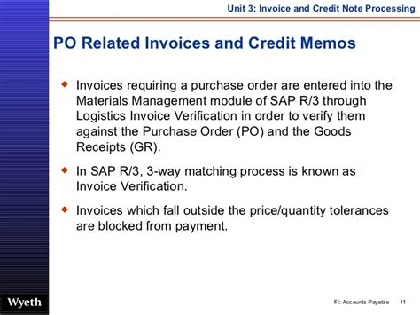 Credit Note Format Meaning Sap Invoice Credit Note Processing Http Sapdocs Info