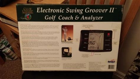 golf electronic swing analyzer electronic swing groover ii golf analyzer for sale in