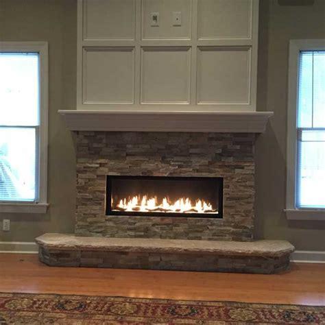 lineafire fireplaces horizontal 100 110 120 cm