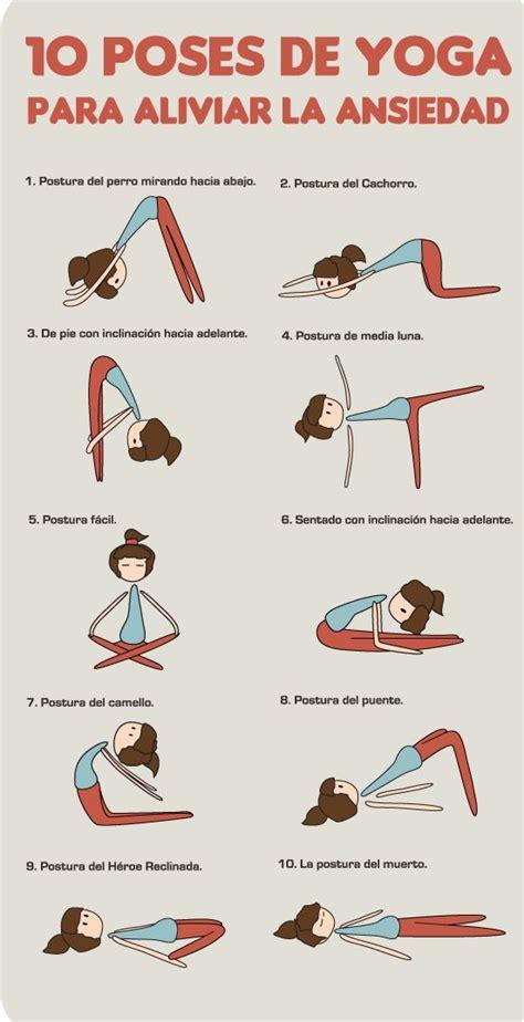 imagenes ejercicios yoga conoce las 10 posturas de yoga para aliviar la ansiedad