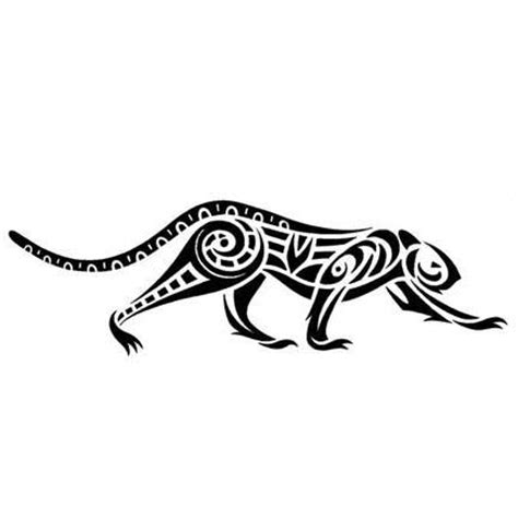 tribal tattoo jaguar tribal jaguar on the prowl design tattoowoo