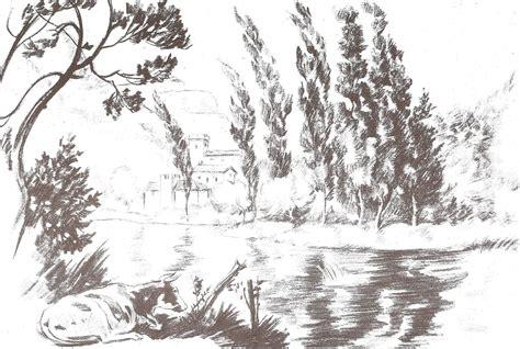 imagenes artisticas para dibujar dibujo art 237 stico paisajes y marinas plantillas para