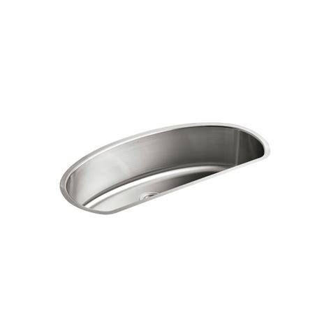 kohler undertone undercounter stainless steel 38 in