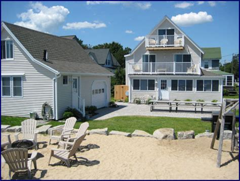 cottages in orchard maine peekytoe beachfront cottage and carriage house rental