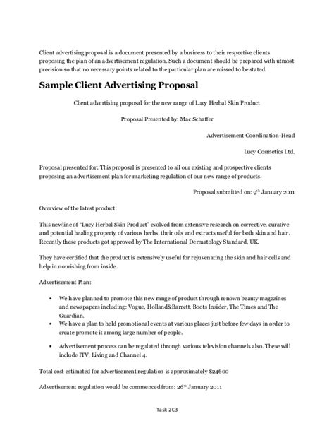 advertising agency rfp template advertising sle images