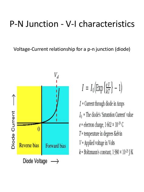 p n junction diode pn junction and zener diode 12 class project ppt