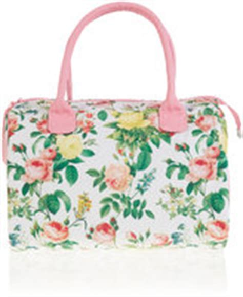 Marks Spencer Floral Print Canvas Bag by Cosmetics Shopstyle Uk