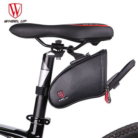 waterproof bicycle seat bags wheel up bicycle saddle bag waterproof mtb road bike rear