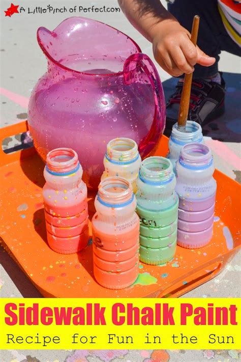 diy sidewalk chalk paint recipe 489 best images about with paint on for