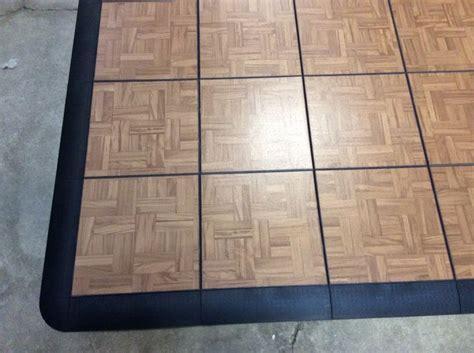 Snap Lock Floor by Our Teak Style Snap Lock Portable Floor Will